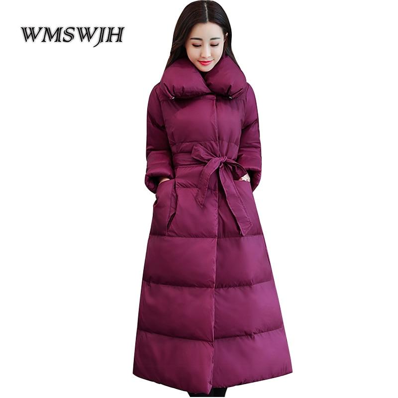 WMSWJH Women s winter Jacket 2019 New Fashion Slim parka women down winter coat warm Jacket