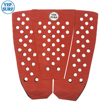 Free Shipping EVA Deck Pad Red Surfboard Traction surf pads grip pranchas de