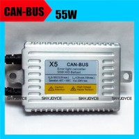 2X Ballast Only Hid Canbus Ballast 55W 12V AC Quality No Error Canbus Hid Metal Slim