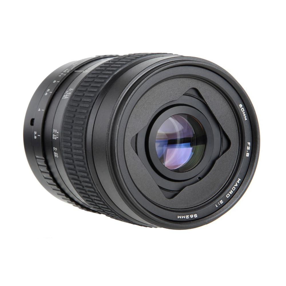 60mm f/2.8 2:1 Super Macro Lentille de Mise Au Point Manuelle pour Canon EOS Monture EF 1200D 760D 750D 700D 600D 70D 60D 5DII 5DIII 7D 6D 5D DSLR60mm f/2.8 2:1 Super Macro Lentille de Mise Au Point Manuelle pour Canon EOS Monture EF 1200D 760D 750D 700D 600D 70D 60D 5DII 5DIII 7D 6D 5D DSLR
