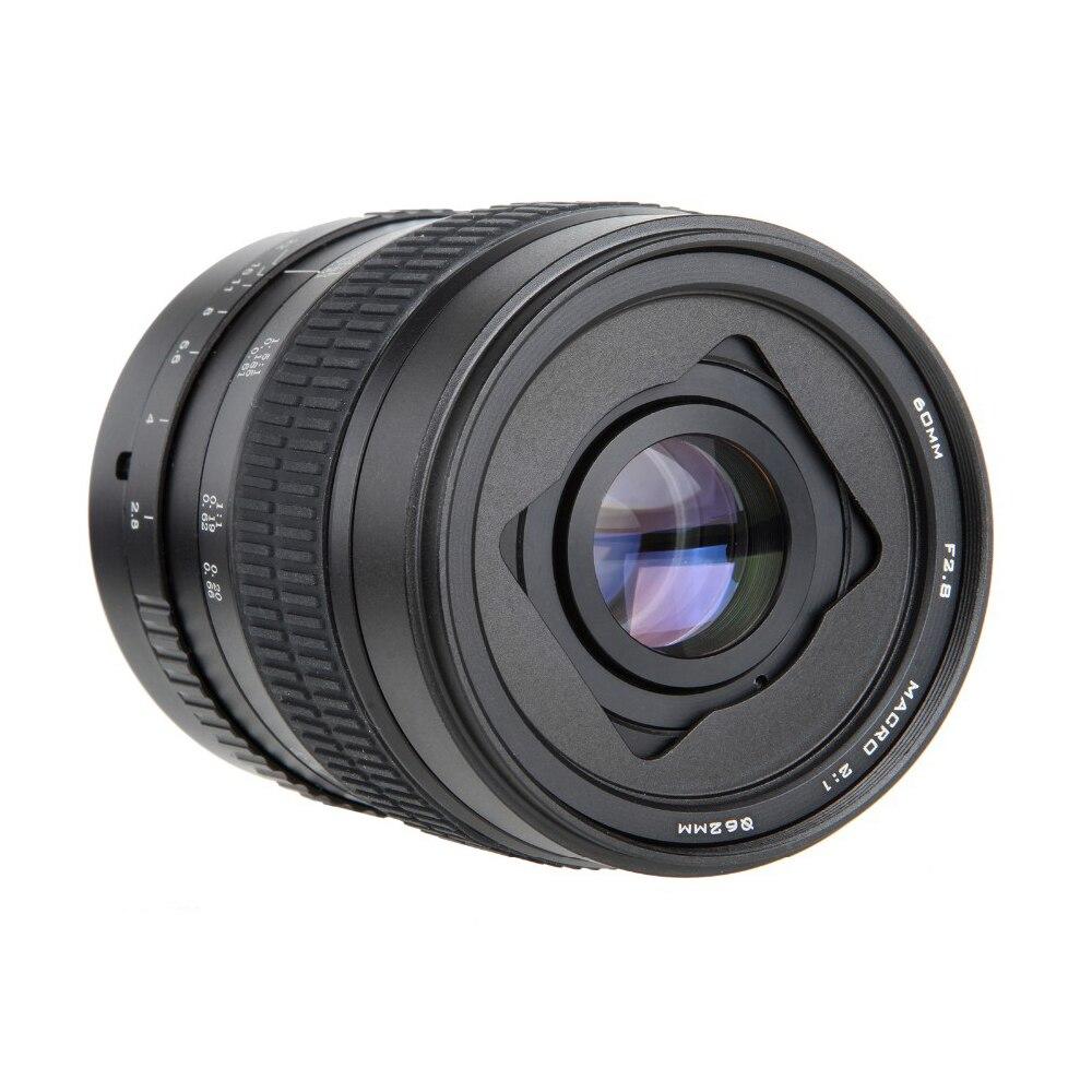 60mm f/2.8 2:1 Super Macro Lentille de Mise Au Point Manuelle pour Canon EOS Monture EF 1200D 760D 750D 700D 600D 70D 60D 5DII 5DIII 7D 6D 5D DSLR