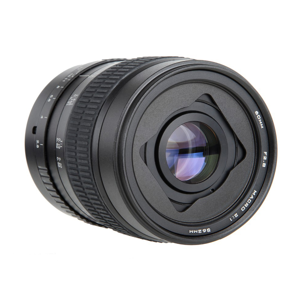 60mm f/2.8 2:1 Super Macro Manual Focus Lens for Canon EOS EF Mount 1200D  760D 750D 700D 600D 70D 60D 5DII 5DIII 7D 6D 5D DSLR-in Camera Lens from  Consumer ...