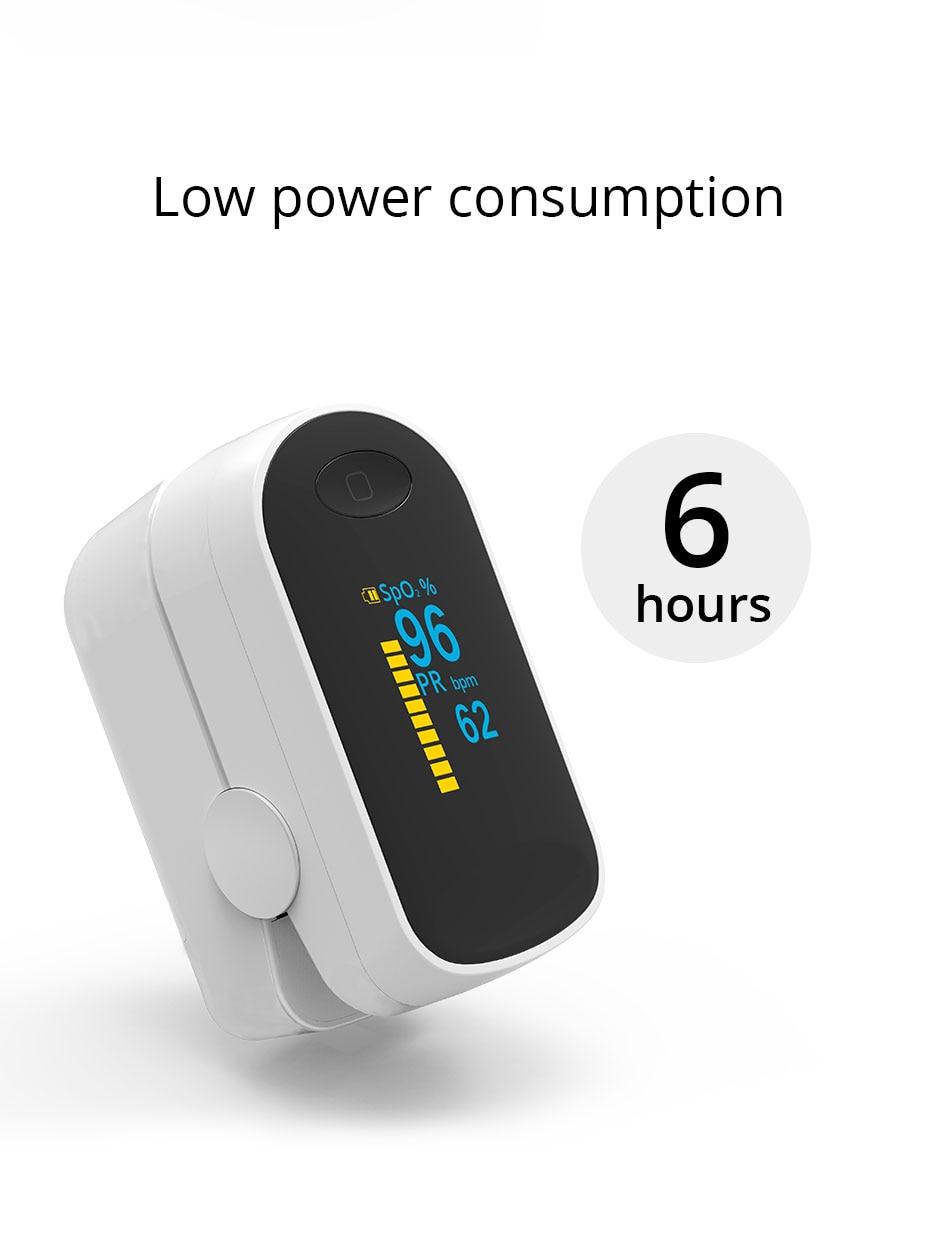 oximetro monitores de saúde do agregado familiar
