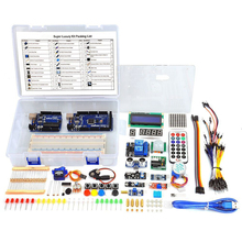 Супер Starter Kit Для Arduino UNO R3 и Mega2560 Доска для ЖК Servo Motor Реле