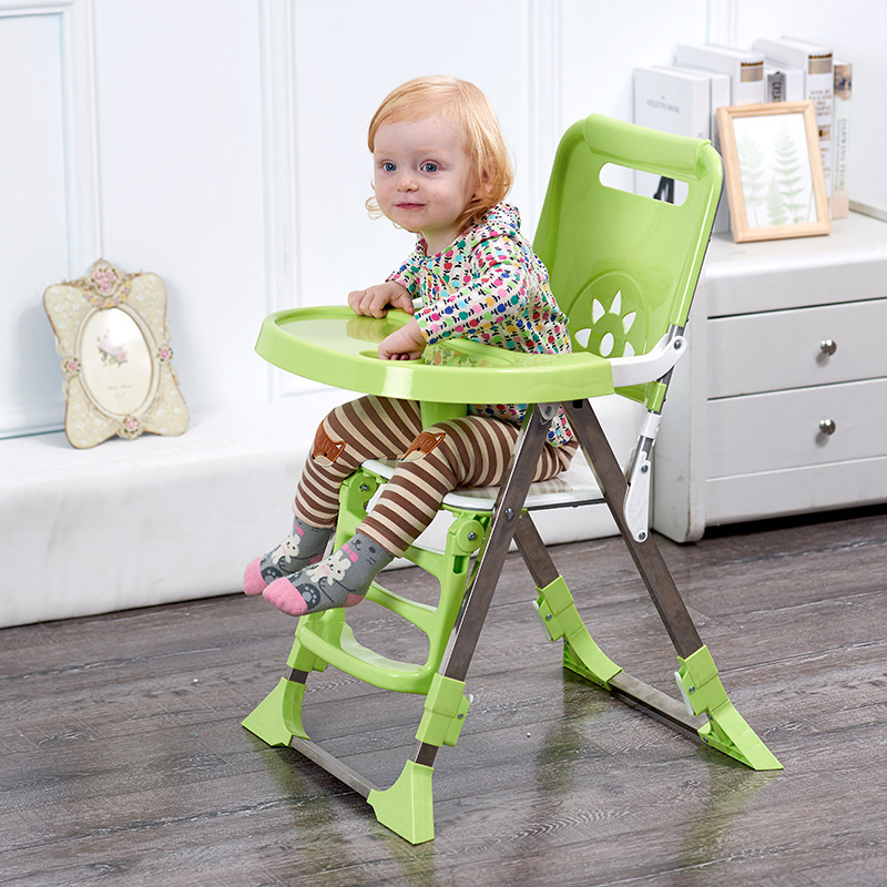 New Baby Chair Feeding Collapsible Children Dining Chair Multifunctional Baby Dinette Baby Portable Seating Dining Chair pouch baby dining chair multi functional portable foldable baby food chair plastic baby dinette children s dining chair pouch