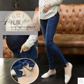 Maternity Jeans Pants New Spring Autumn Fashion Pregnant Women Prop Belly Denim Pant Stretch Trousers 16720W
