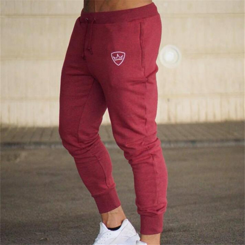 2018 Autumn Brand Gyms Men Joggers Casual Men Sweatpants Joggers Trousers Sporting Clothing The high quality Bodybuilding Pants