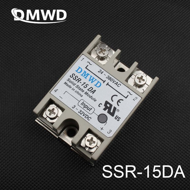DMWD SSR 25DA dc ac relay solid state 25A actually Manufacturer 25A