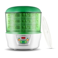 HIMOSKWA 220V Multifunction Automatic Yogurt Maker Rice Wine Making Machine Bean Sprouting Seedling Machine Smart Thermostatic