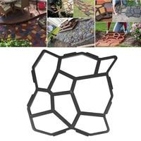 Garden Concrete Molds Paving Cement Brick Moulds Stone Road Concrete Molds Tool Paving Brick for DIY Plastic Path Maker Mould
