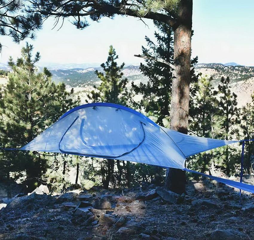 2 осіб Відкритий намет Відпочинок на гамаку Антимоскітна сітка Гамак Намет підвіски Палатка з деревом, що підвішується Намет наметів