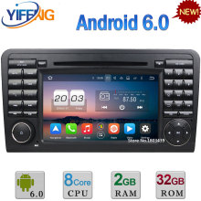 Android 6.0 Octa Core 2GB RAM 3G/4G Car DVD Radio For Benz ML CLASS W164 ML300 ML320 ML350 ML430 ML450 ML500 ML550 ML55 ML63 AMG