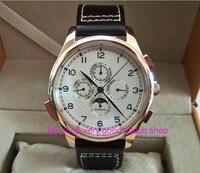 44ミリメートルパーニスアジア自動機械式ムーブメントメンズ腕時計ローズゴールド腕時計ケース高級腕時計ファッション腕時計卸売DFGD226