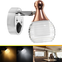 4W Wall lamp LED Spot light interior Reading light universal for camper RV Boat LED Reading Lamp