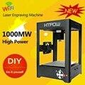 Mini DIY 1000 mw Wi-fi Gravador Cortador A Laser Máquina de Gravação A Laser USB SuperCarver Impressora A Laser Marcação Para Windows Android