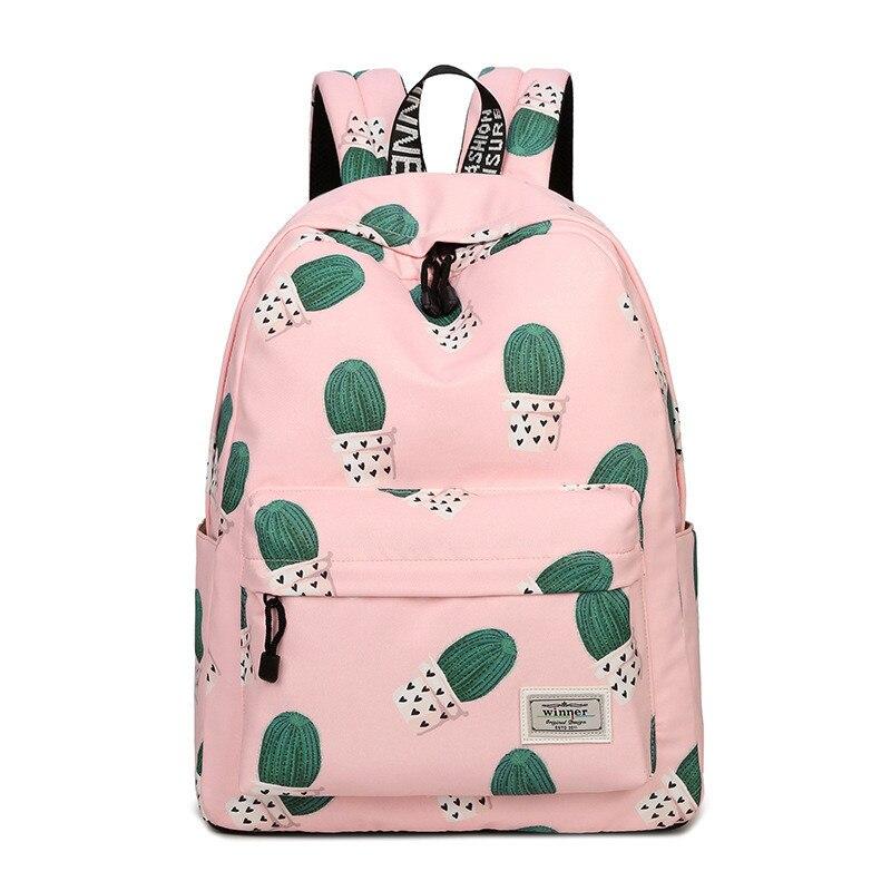 2019 mode femmes sac à dos voyage adolescent fille sac d'école sac à dos femme imprimé sac à dos pochette d'ordinateur Mochila