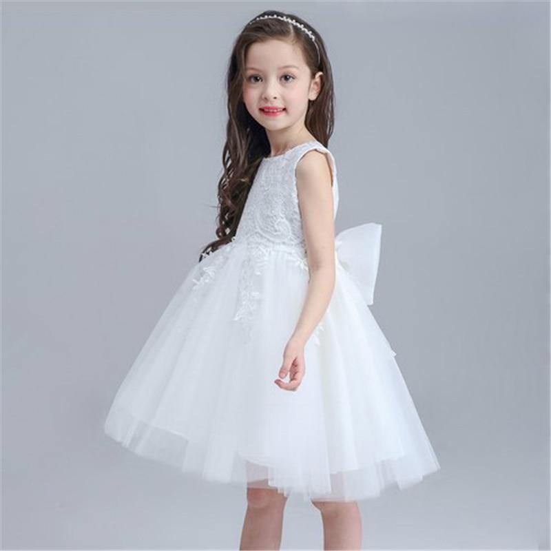 0-24 Μήνες Baby κορίτσια λευκό φόρεμα - Παιδικά ενδύματα - Φωτογραφία 5