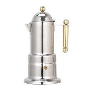 Image 4 - 200ml Stainless Steel Coffee Pot Moka Coffee Maker Teapot Mocha Stovetop Filter Percolator Cafetiere Percolator Tool