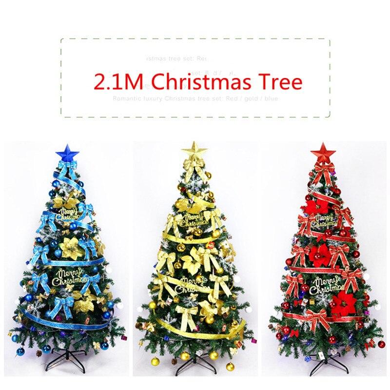 Large Christmas Tree: 2.1M Big Size Christmas Tree Large Luxury Christmas Tree