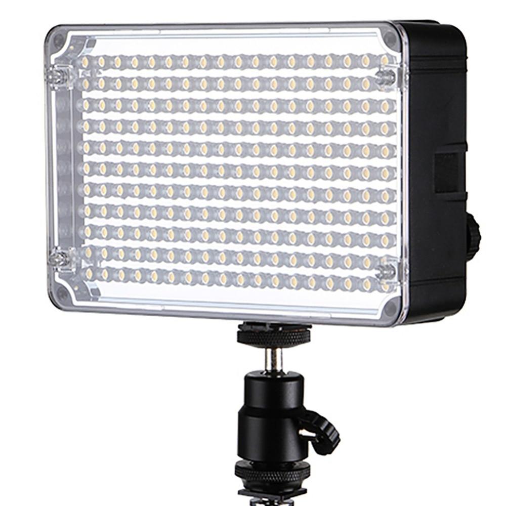 ФОТО New Aputure AL-H198C 198pcs LED Video Light adjustment, between 5500K and 3200K On Camera Light for DLSR Cameras