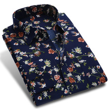 Мужская рубашка New Spring Men Casual