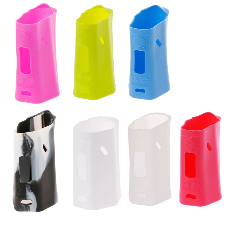 Soft Silicone Sleeve Case Protective Skin Cover For <font><b>Wismec</b></font> <font><b>Reuleaux</b></font> <font><b>RX200</b></font> BoX image