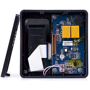 Image 4 - Cyfrowy elektryczny czytnik RFID finger kod skanera system biometryczny system kontroli dostępu z czytnikiem linii papilarnych X6 + 10 sztuk piloty