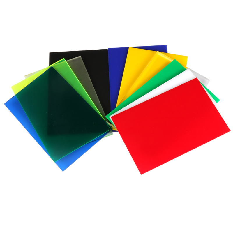 Acrylic Board Glossy Multicolor Translucent Plexiglass Plastic Sheet Organic Glass Polymethyl Methacrylate 300x200x2.7MM