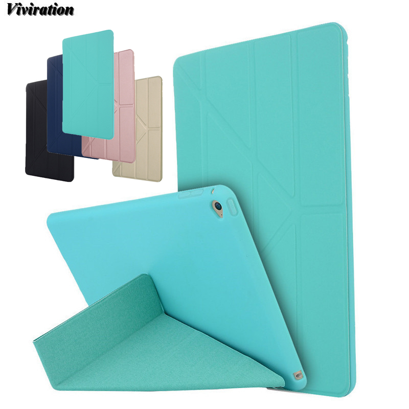 Protective Smart Stand Cover Case For Apple iPad Air 2 Tablet PC Viviration Fash