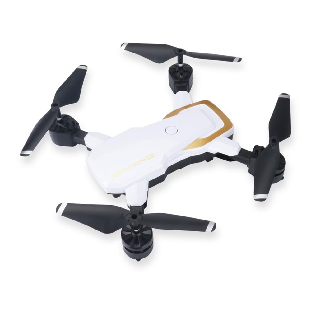 2,4 ГГц Uav Hover светодиодный один ключ возврата игрушки HD камера высота удержания скорость регулируемый Безголовый режим 480 P Дрон Подарочная камера s Дрон - Цвет: white