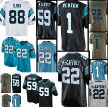 ba69aa63d 1 Cam Newton JERSEY Men 59 Luke Kuechly 22 Christian McCaffrey Panthers 58  Thomas Davis 88