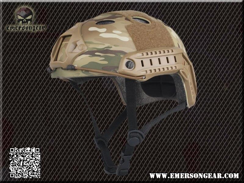 Táctico militar casco de airsoft paintball sports gear head protector y la caza