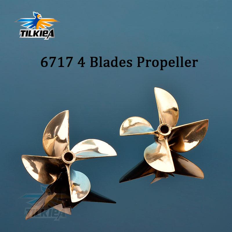"36mm 3 blade brass propeller for 1//8/"" shaft for RC boat"