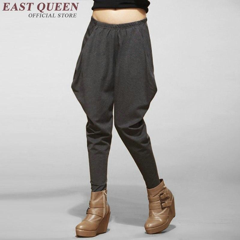 Holgados Aa2761 4 Casual Baja 2 Tamaño 3 1 Xxxl Harem Ropa Hippie Sueltos Mujer Pantalones Yq Mujeres Más Cintura wn88qxEROU