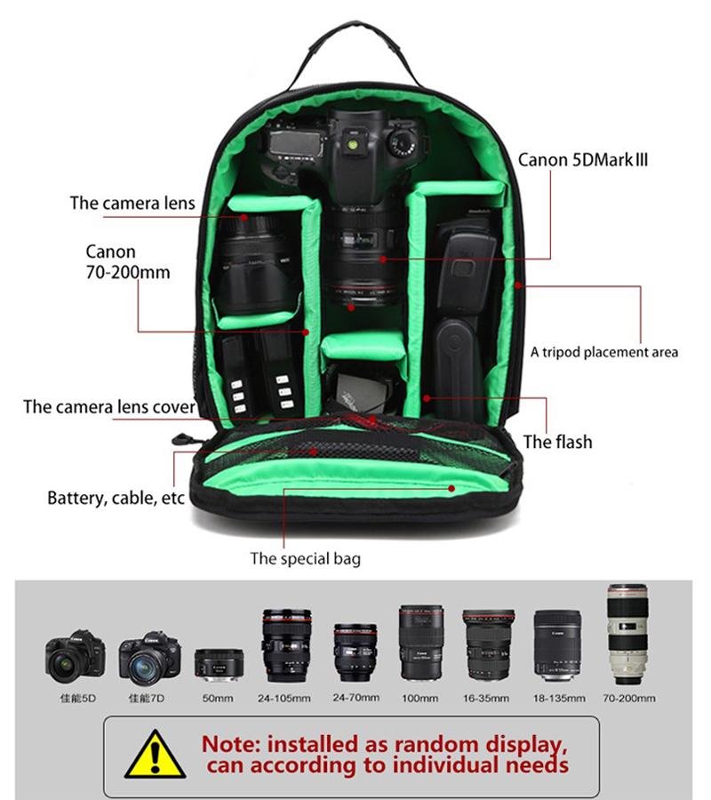 Camera Video Bag Backpack 8