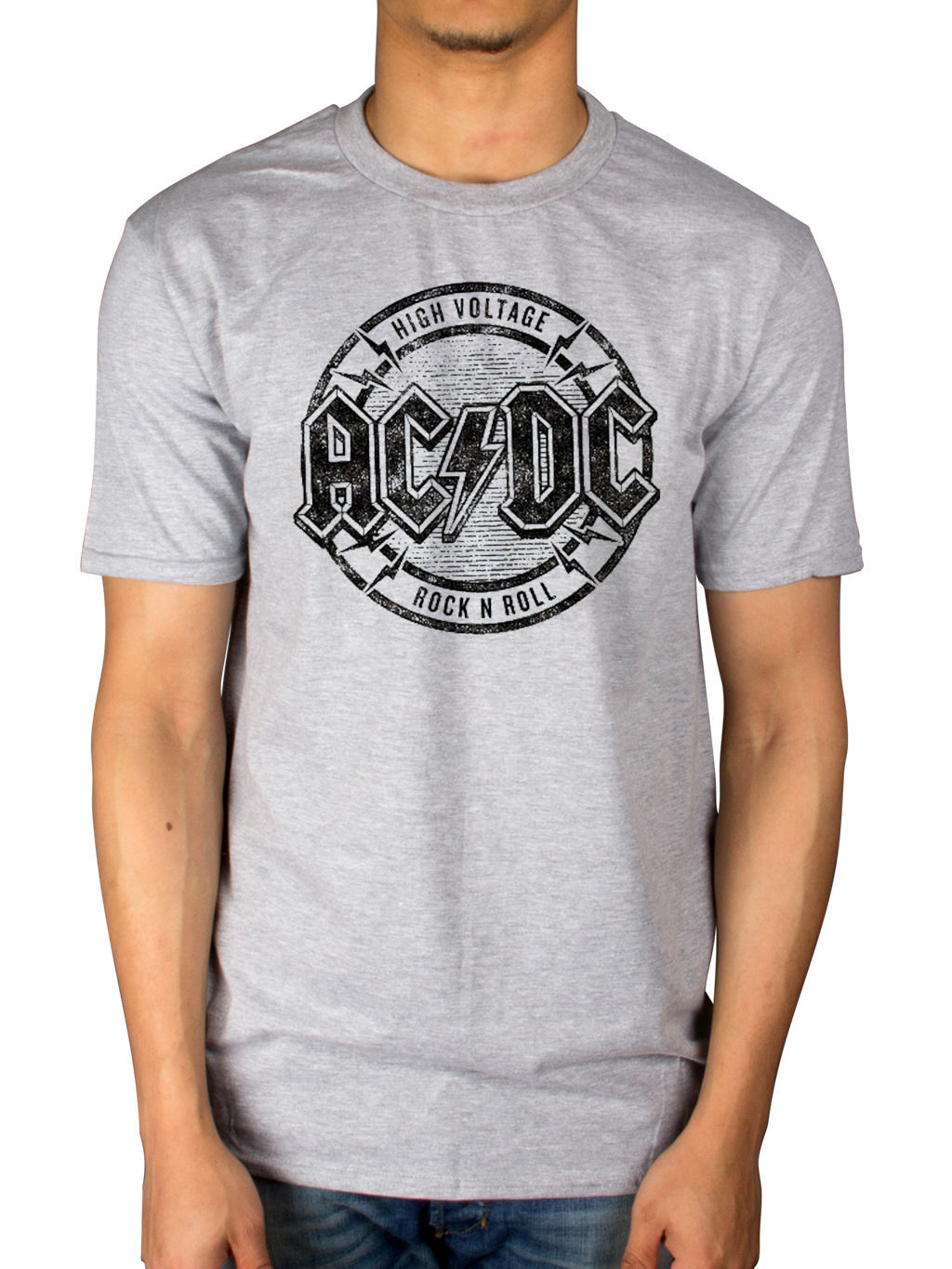 Official AC/DC Hv Rock N Roll T-Shirt Dirty Deeds Done Cheap Back In Black Album New 2018 Fashion Mens T-Shirts The New ...