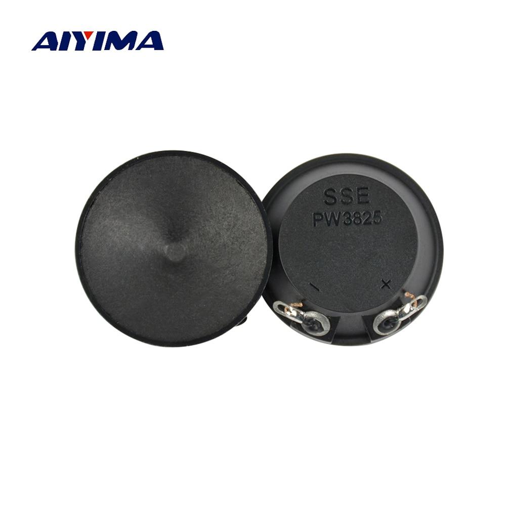 AIYIMA 10Pcs 38MM Ultrasonic Speakers Paper Edge 2.5-50Khz Audio Speaker High Quality Piezo Tweeter