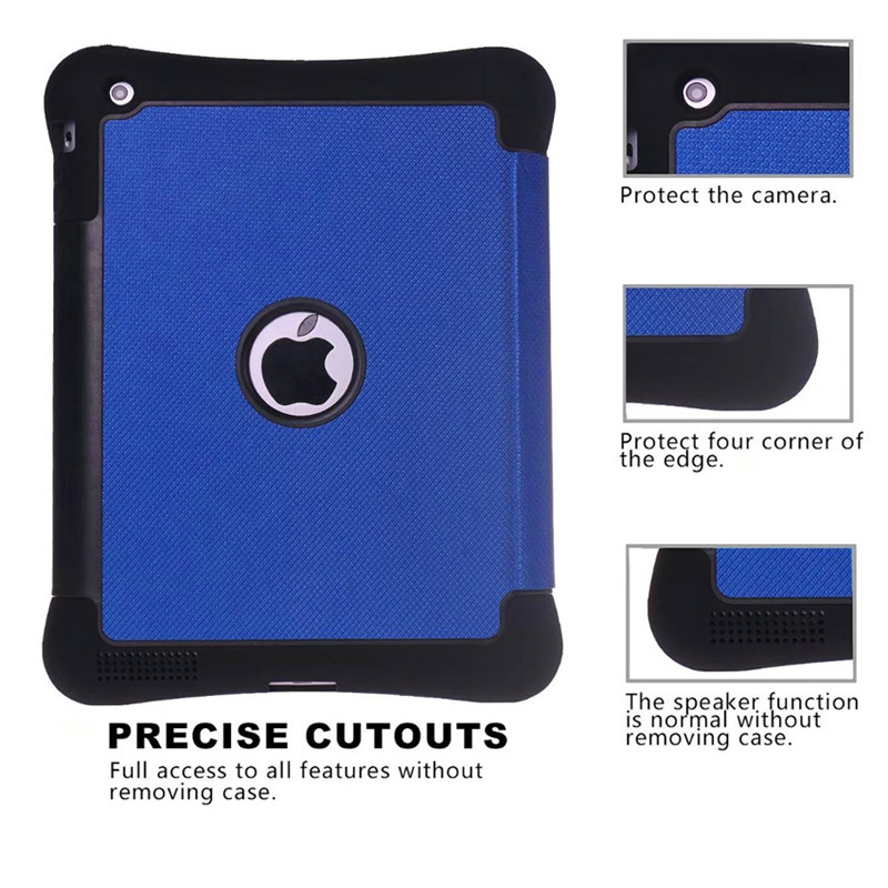For ipad 234 Nice flexible soft back silicone case PU leather front smart Auto wake up sleep magnetic cover for iPad case 2 3 4 ...