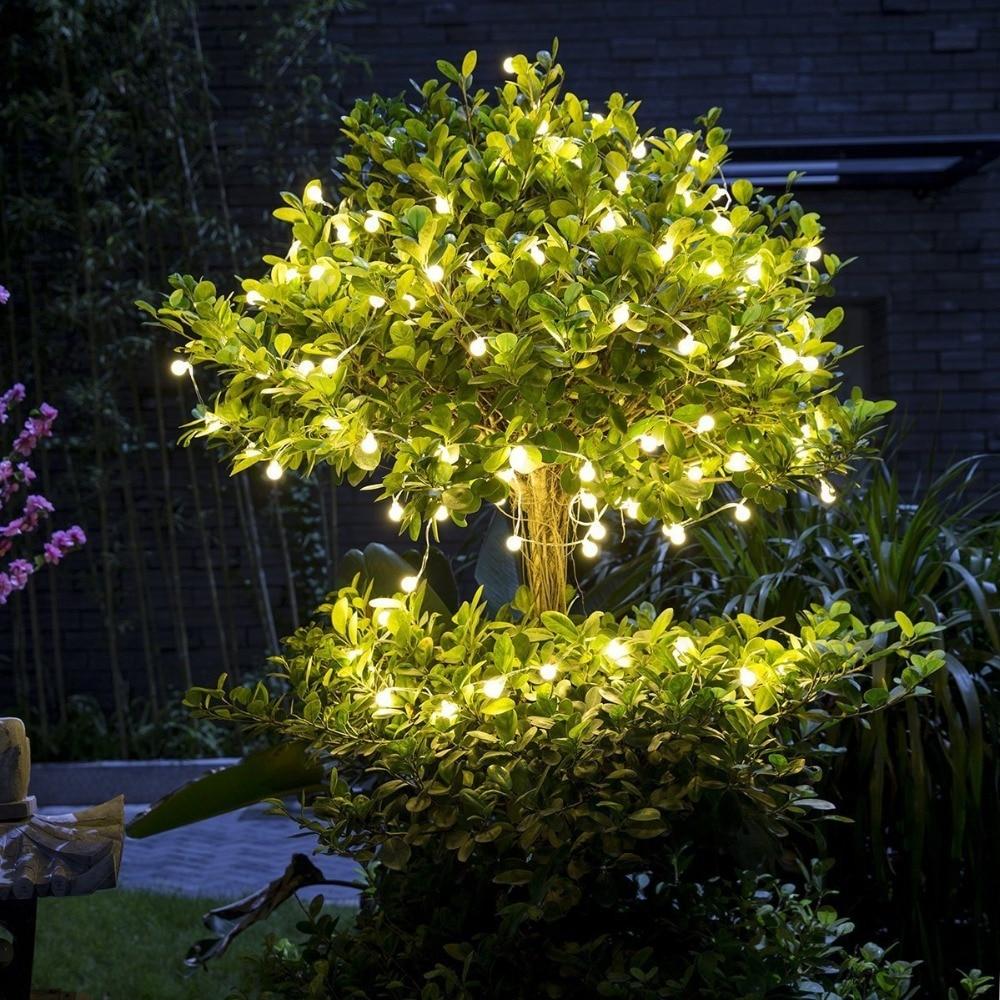 1PC Fairy 20m 200 LED luminaria dekoration Garland bollsträng lampor - Festlig belysning - Foto 5