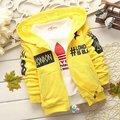Nova Primavera/Outono Crianças hoodies Moda Algodão, para 1-4 anos de idade as crianças, Frete grátis