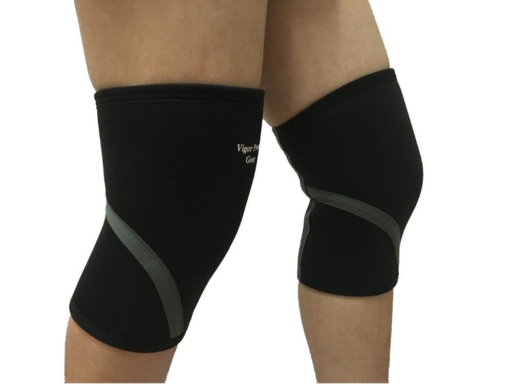Wholesales Black Rose 5mm knee sleeve for weightlifting, crossfit, powerlifting, bodybuilding, gymnastics - men & women