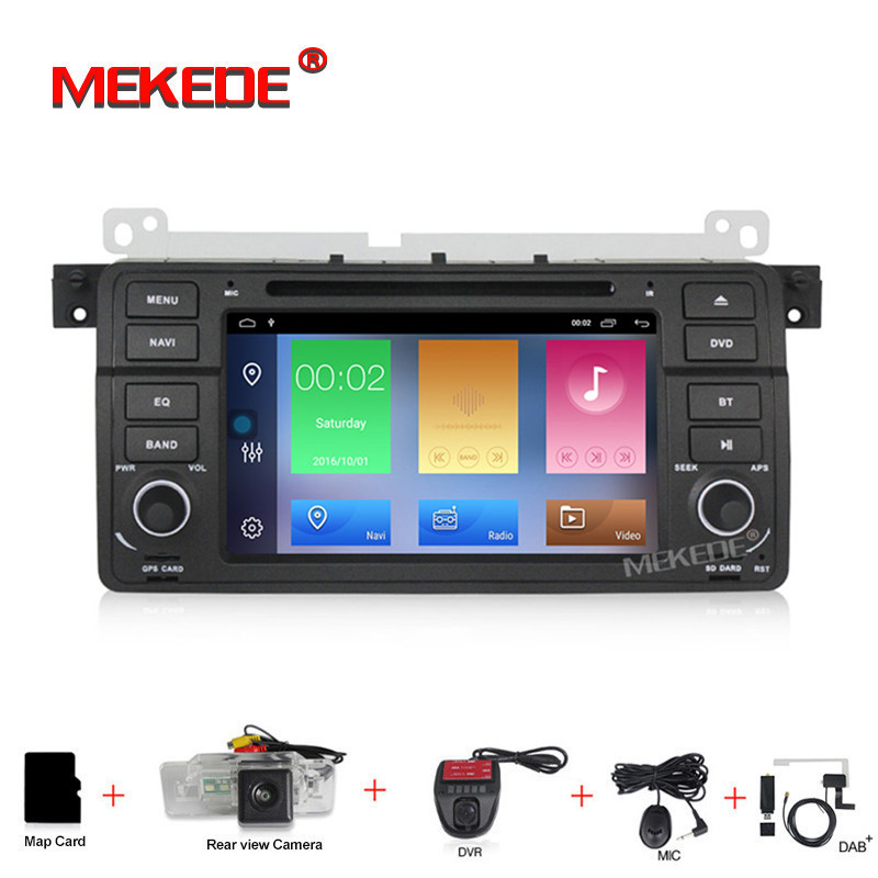 2+32G 7 inch Android 9.1 for bmw E46,M3,car dvd,gps navigation,wifi,BT,canbus,radio,RDS,quad core,1024x600,support obd2,dvr