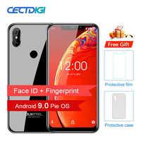 "5G/2.4G WIFI 6.18"" BIG 19:9 Smartphone Android 9.0 MT6739 Quad Core OUKITEL C13 Pro 2GB 16GB Fingerprint 4G Face ID Mobile Phone"