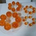 Bola de Dragon Ball Z Figura de Acción de Estantes de la Exhibición Estante De Exhibición Para 35mm 45mm 56mm 76mm Bolas Anime Dragon Ball (sólo la plataforma)