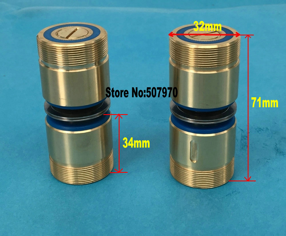 Brass Seat Pulley Assembly 561(OD32*L71mm) for EDM Wire Cut Machine ...