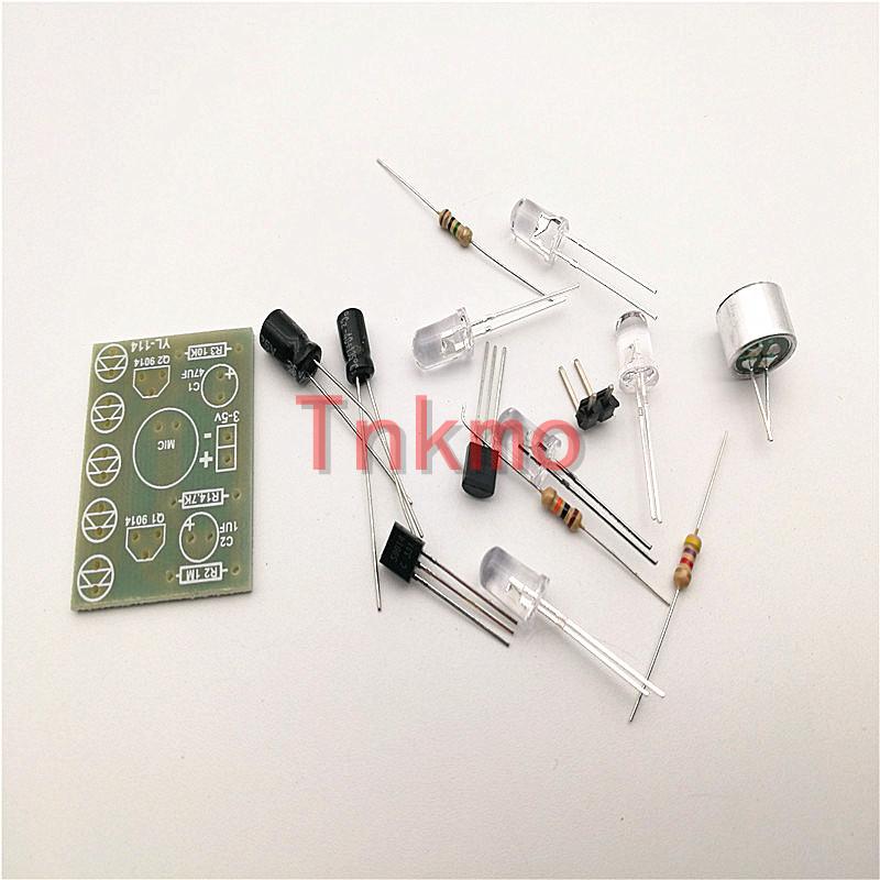 Diy Electronic Kit 220v Bulb Lamp Sound Activated Auto Delay