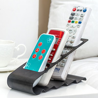 Hot TV DVD VCR Step Remote Control Mobile Phone Holder Stand Storage Caddy Organiser
