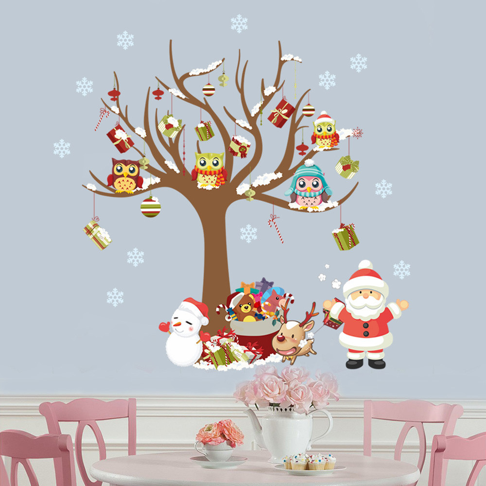 Christmas Decorations For The Wall Popular Santa Wall Decoration Buy Cheap Santa Wall Decoration Lots