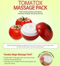 Tomatox Magic Massage pack 80g 5pcs Whitening Cream Moisturizing Face Mask Shrink Pores Repairing Facial Masks Korean Cosmetics
