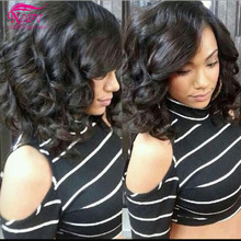 Goldleaf Hair Brazilian Sexy Aunty Fummi Hair 4 PCS lot 100% Natural Brazilian Unprocessed Aunty Fummi hair Bouncy Curly